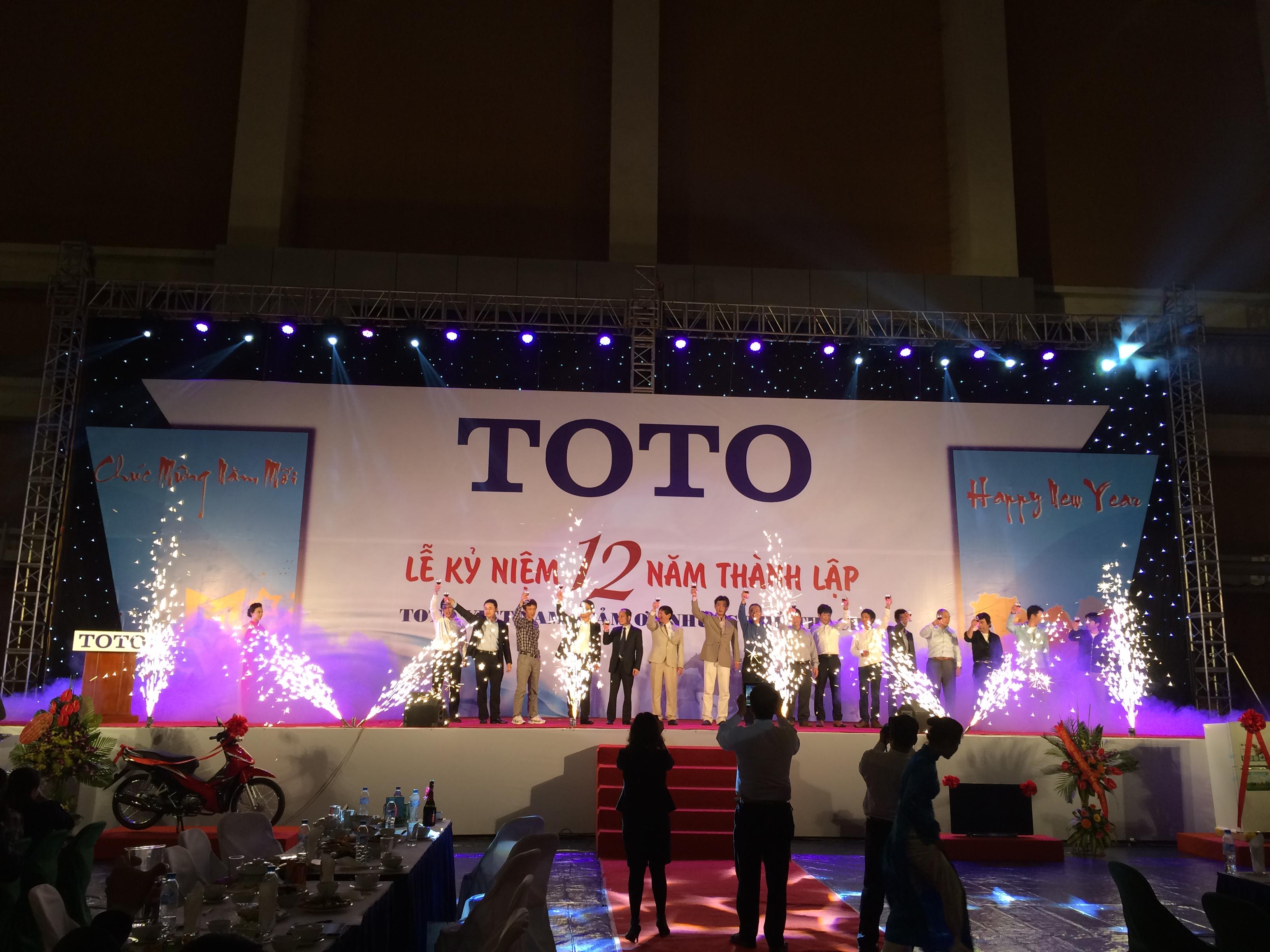 Lễ kỉ niệm 12 năm thành lập Công ty TNHH TOTO Việt Nam