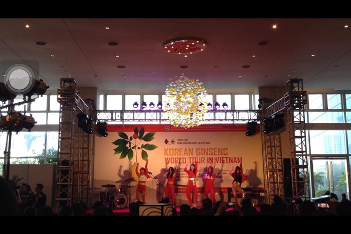 Giao lưu văn hóa Việt - Hàn tại Triển lãm nhân sâm Hàn Quốc