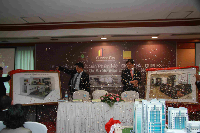 Họp báo Giới thiệu Sunrise City - Novaland tại Hà Nội