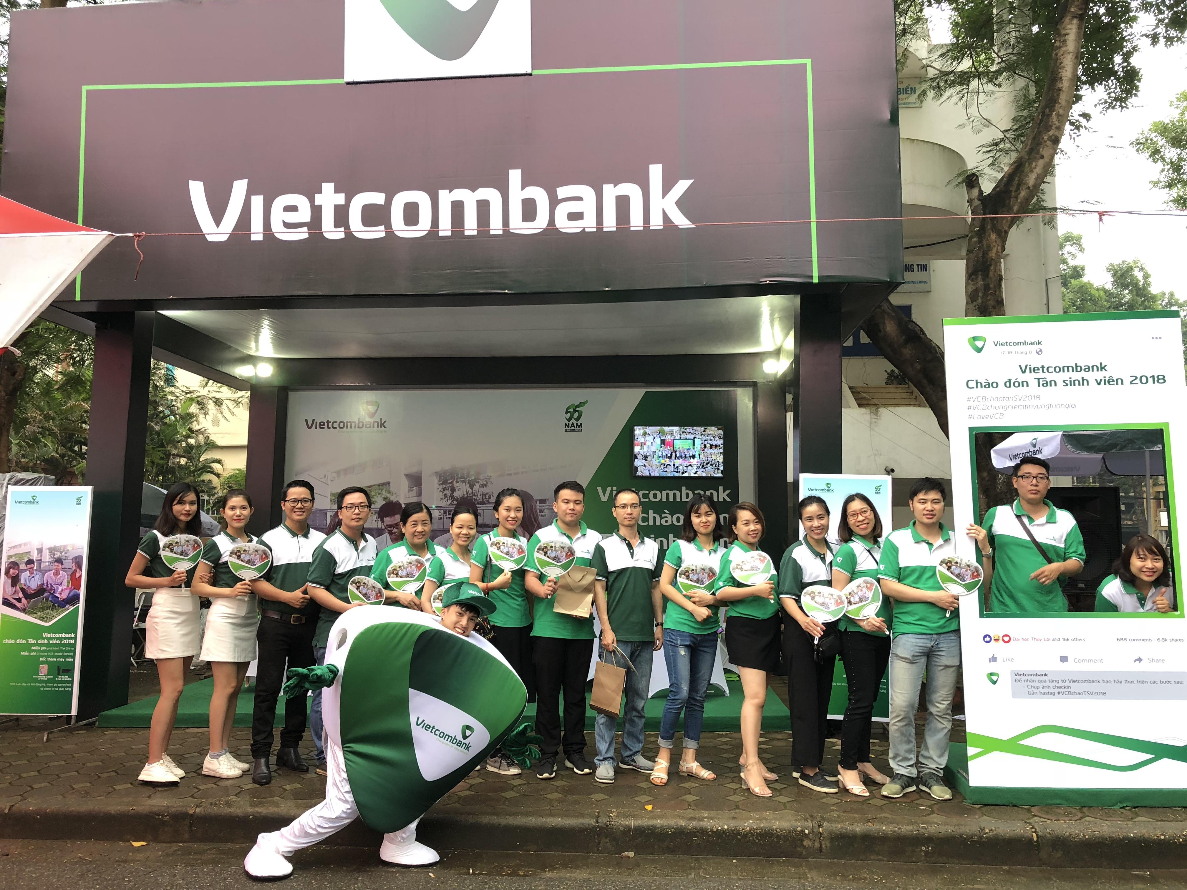 Vietcombank Chào đón Tân Sinh viên 2018