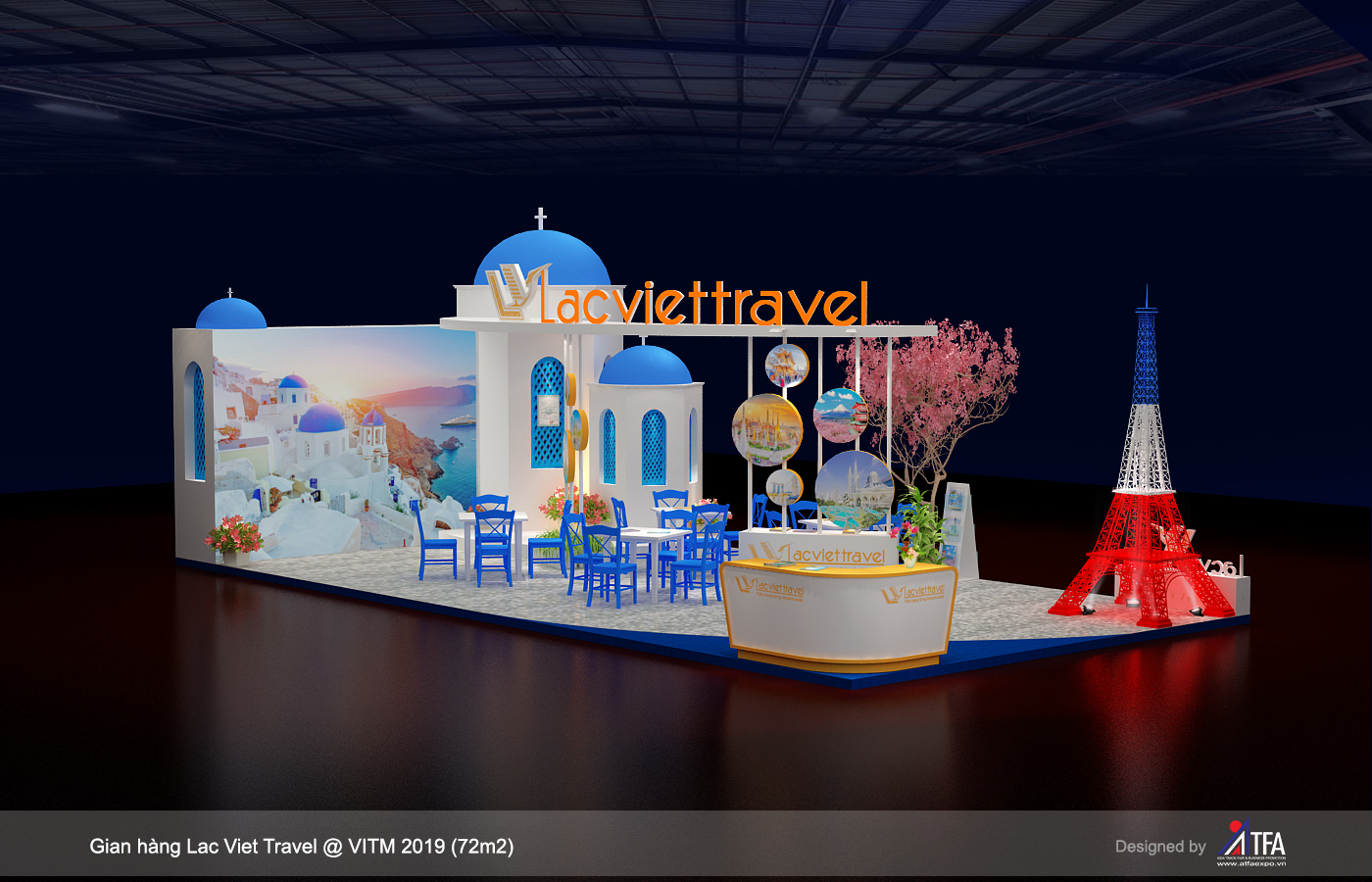 Lac Viet Travel Booth
