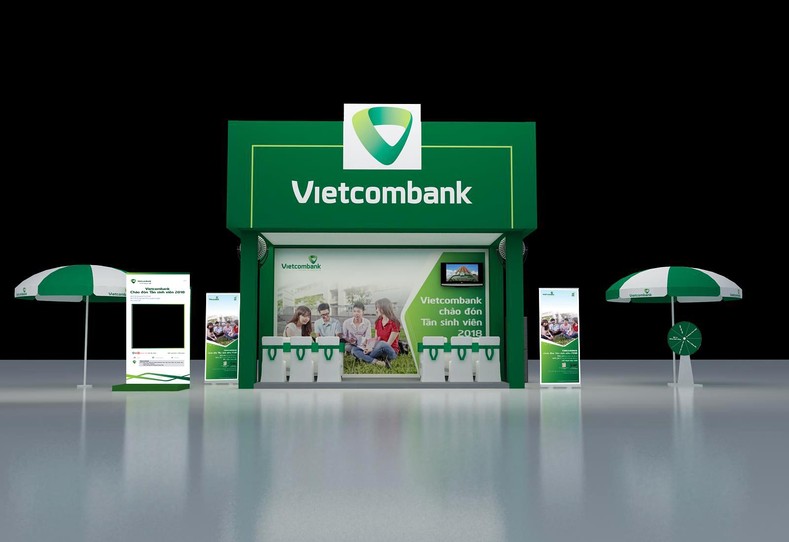 Vietcombank Booth
